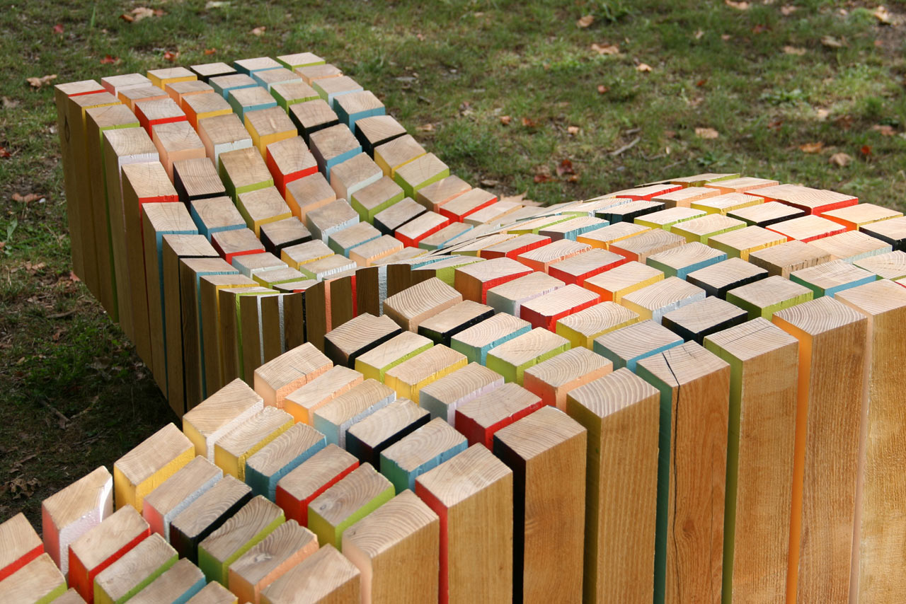 Lightwave bench design