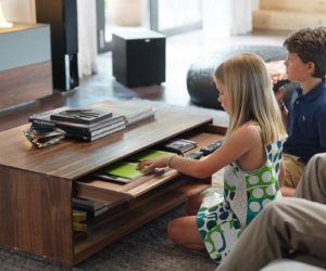 Stylish Coffee Tables That Double As Storage Units Home Design Ideas
