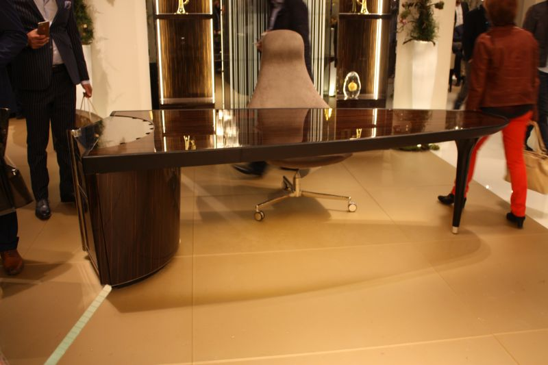 Luxury modern floating desk