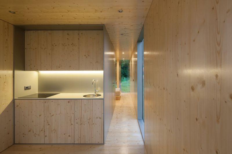 MIMA Light house kitchen and hallway
