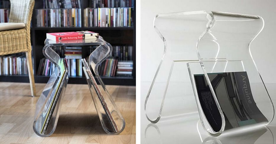 Magino clear stool