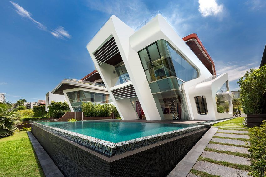 Modern Semi Permanent House Designs Singapore