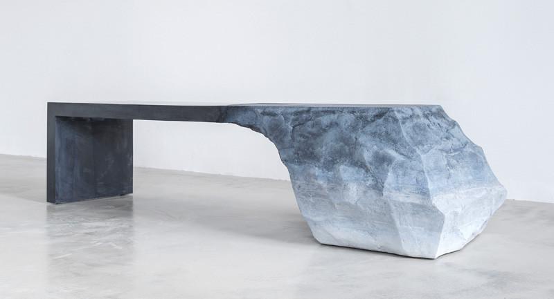 Natural inspired bench design
