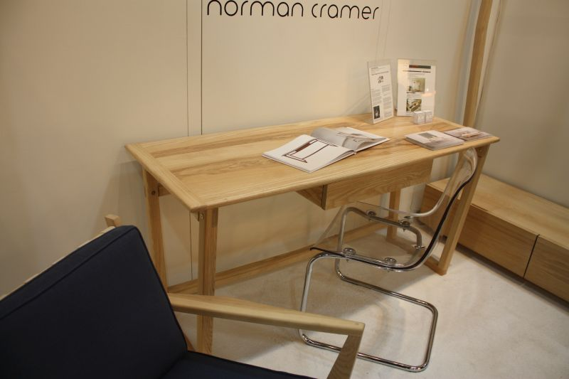 Norman cramer wood desk