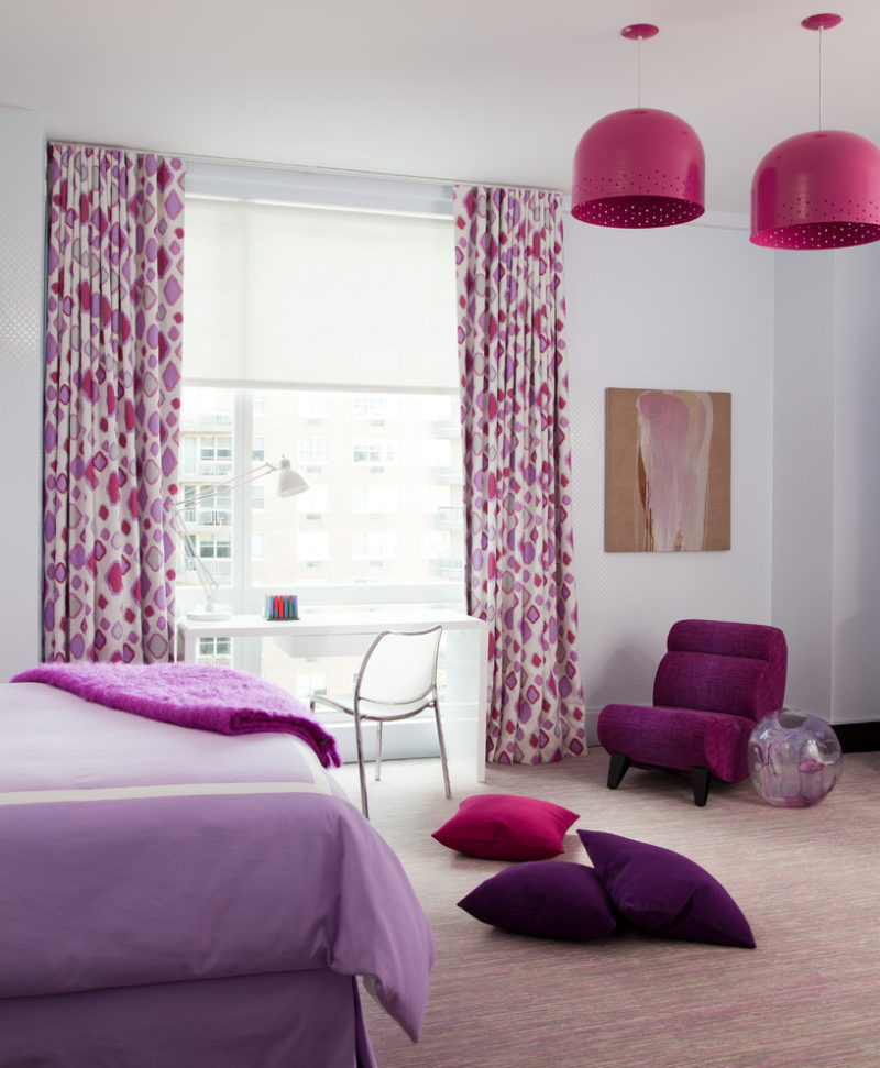purple and pink bedrooms pink and purple bedroom home decorating trends homedit 16825