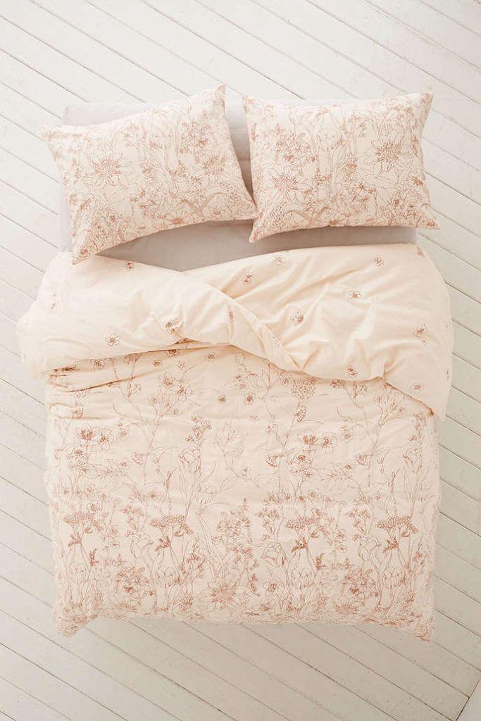Pink Floral Duvet