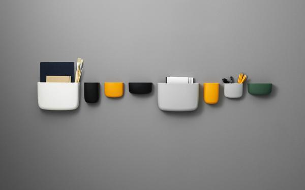 Pocket Wall Organizer by Normann Copenhagen Design