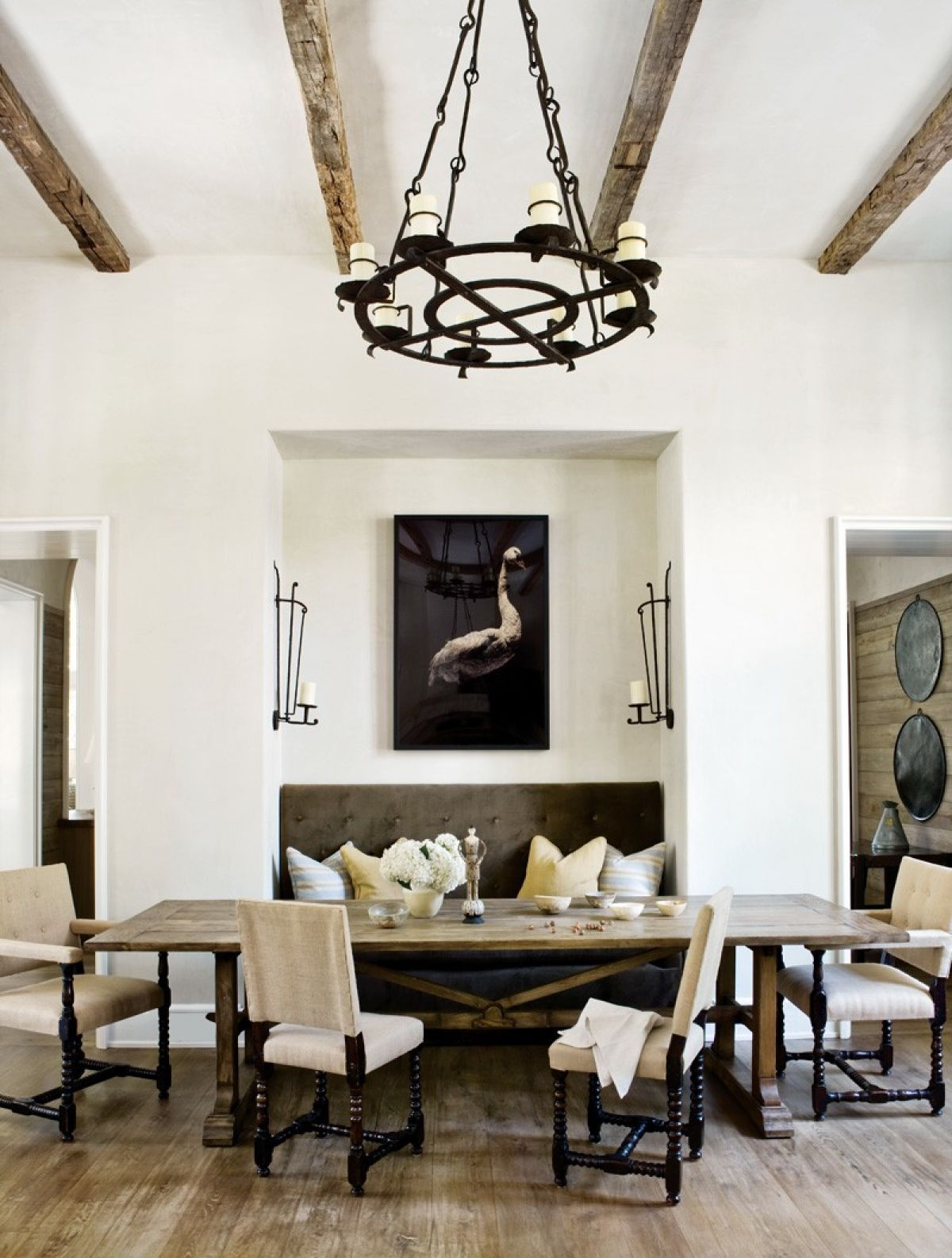 ... Popular Dining Room Area In Spanish Homes