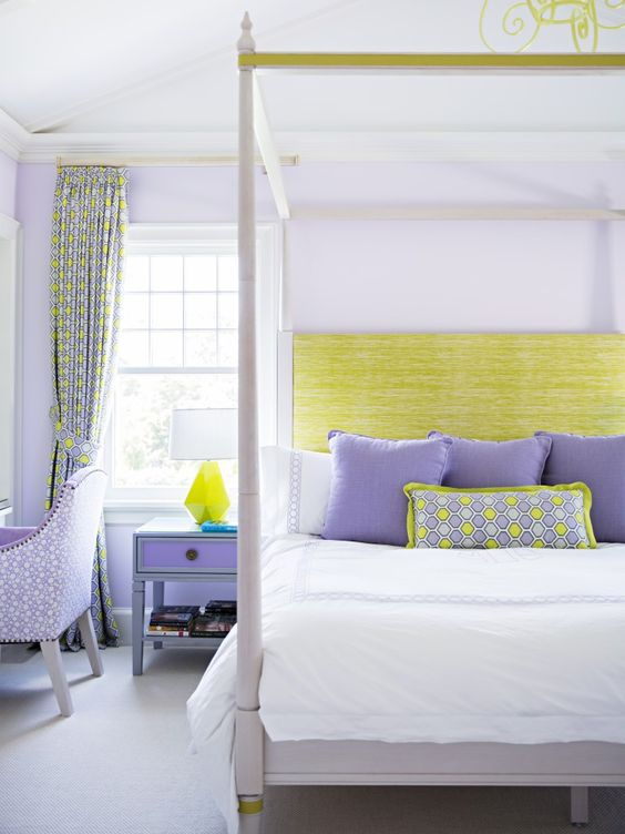 10 Calming Bedrooms With Analogous Color Schemes