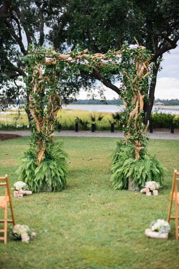 Romantic wedding plantation theme