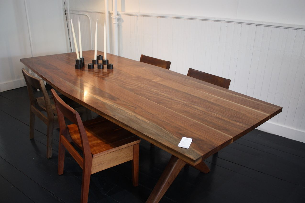 Fernu0027s Founders Dining Table Is A Modern Take On A Sawbuck Table. It Has  Mortise Photo Gallery