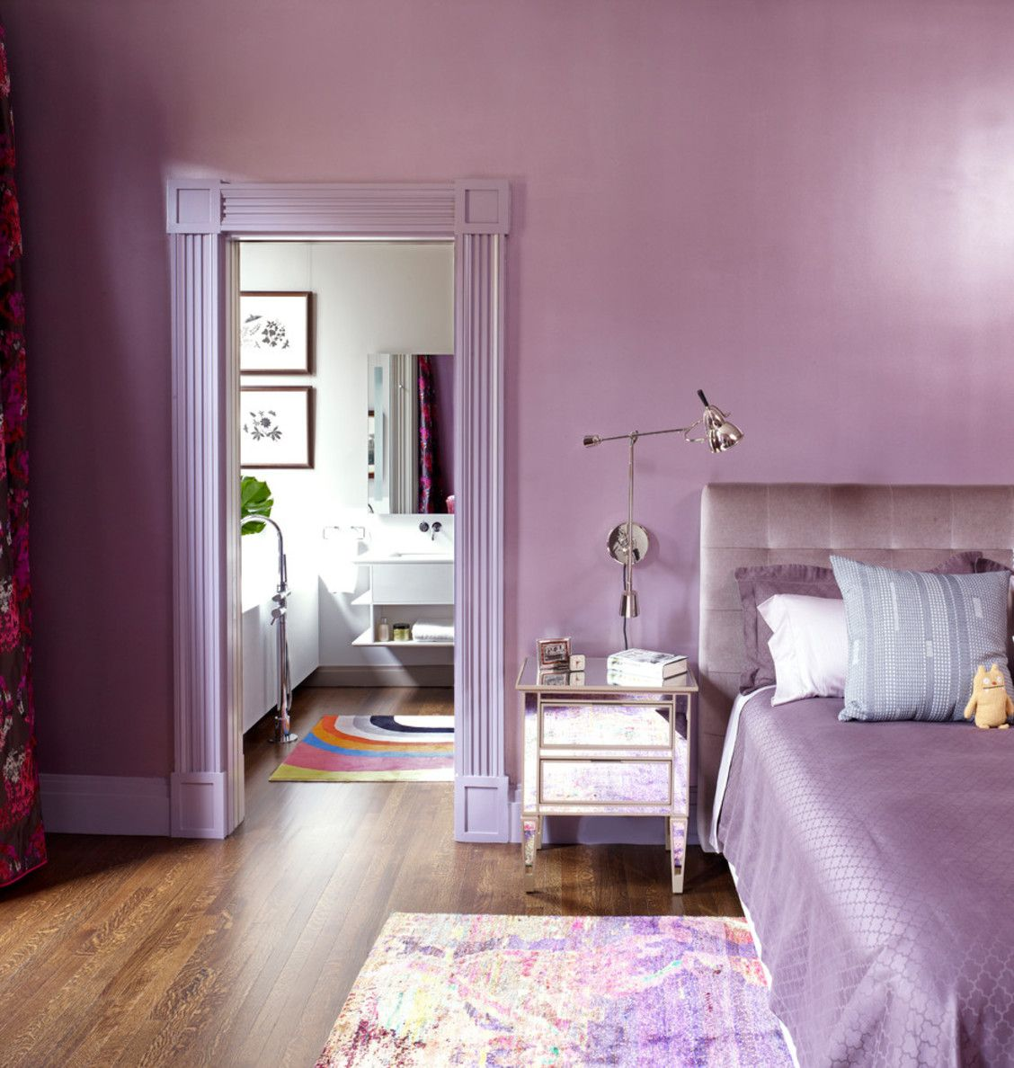 Lavender Bedroom Extraordinary 40 Lavender Rooms That Will Sweep You Right Off Your Feet Inspiration