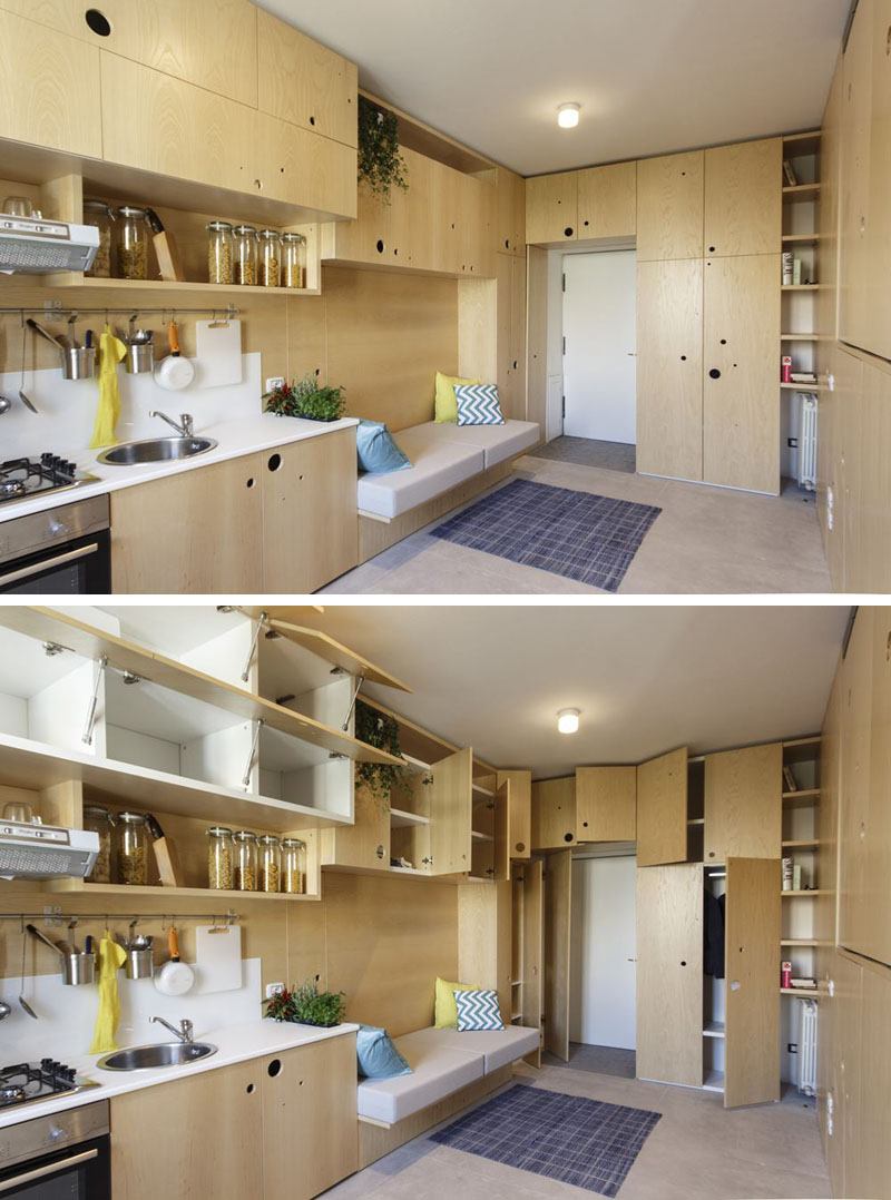 Living Big In A 30 Sqm Apartment A Creative Design Approach