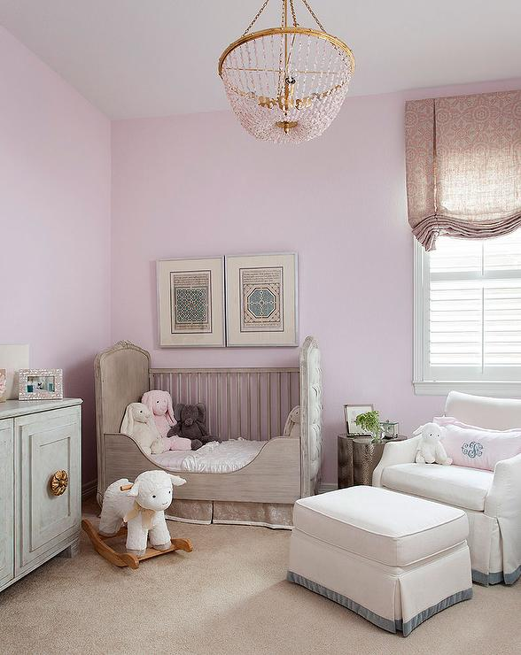 Captivating Soft Color For A Levender Nursery