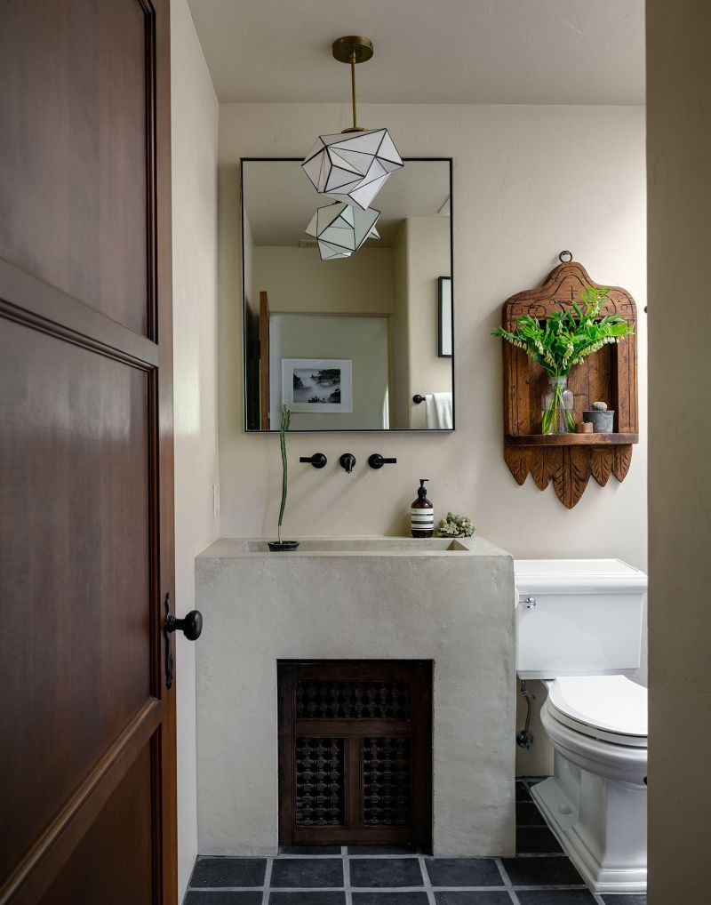 The ultimate inspiration for spanish styling for Spanish style bathroom