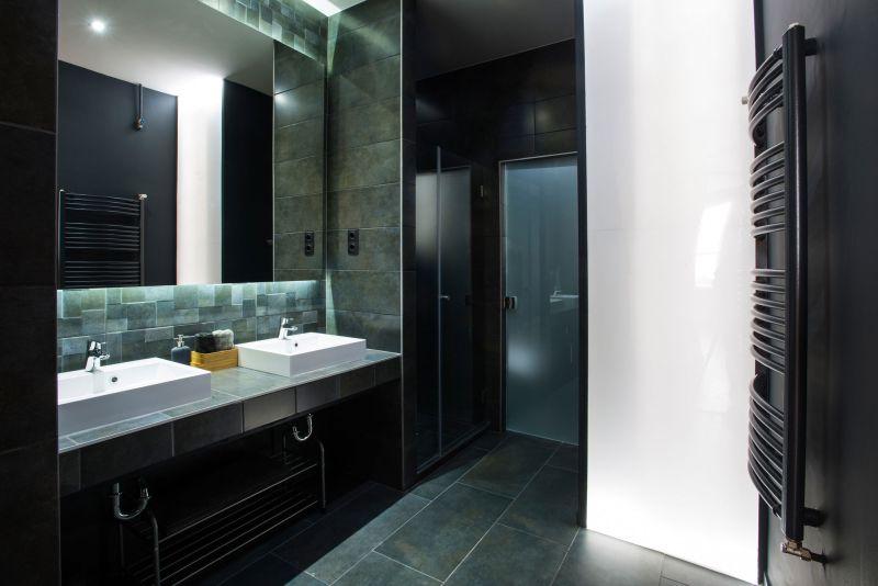 Studio Loft in Barcelona bathroom double sink