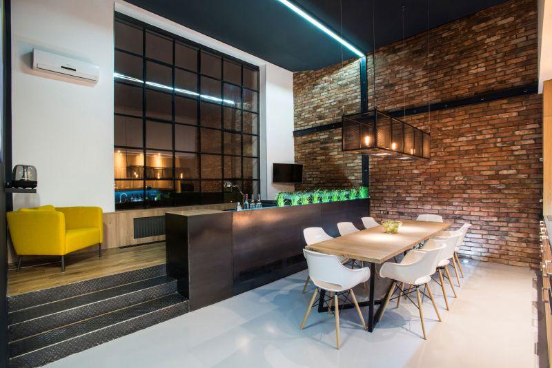 Studio Loft in Barcelona social area