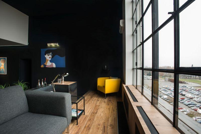 Studio Loft in Barcelona view from the window