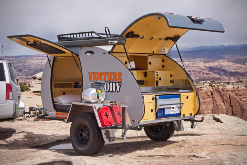 5 Small Camper Trailers For Awesome Off