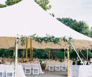 How to decorate for a home wedding home wedding tents a fresh idea for summer celebrations junglespirit Choice Image