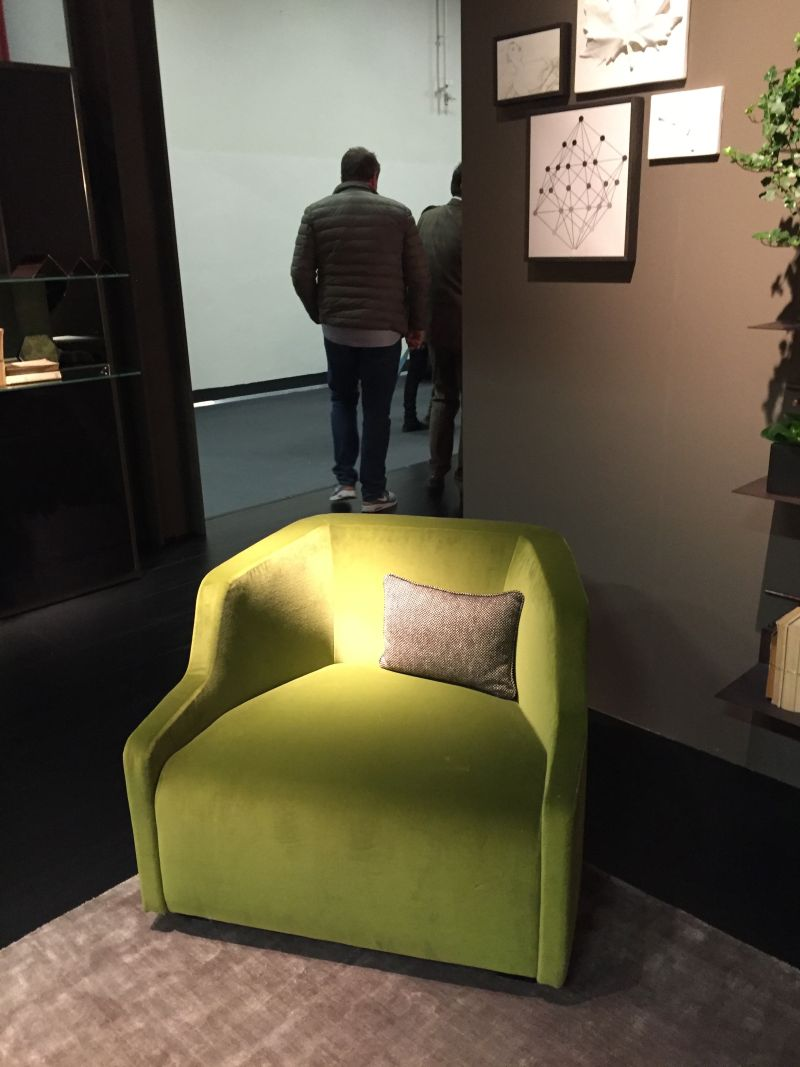 chartreuse armchair