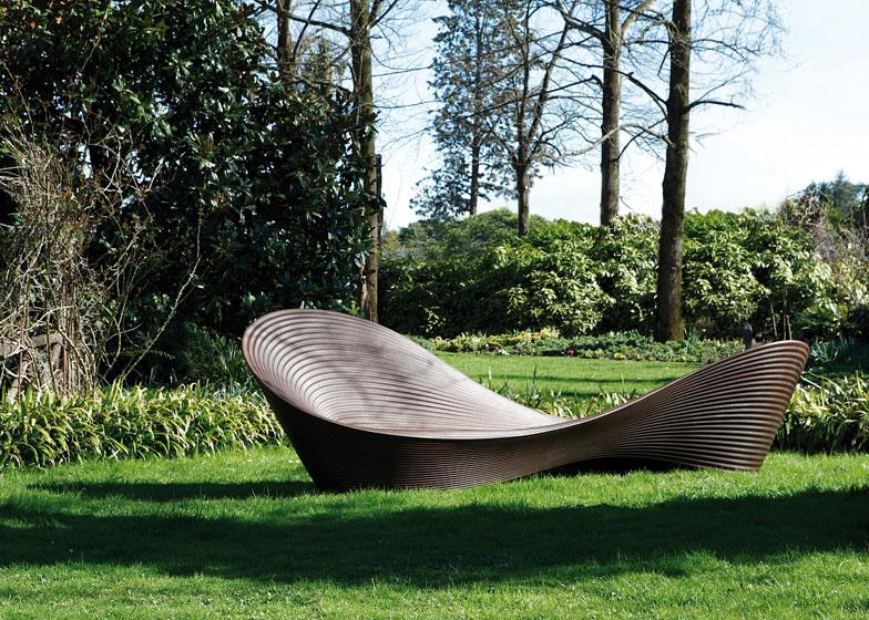 folly bench by ron arad