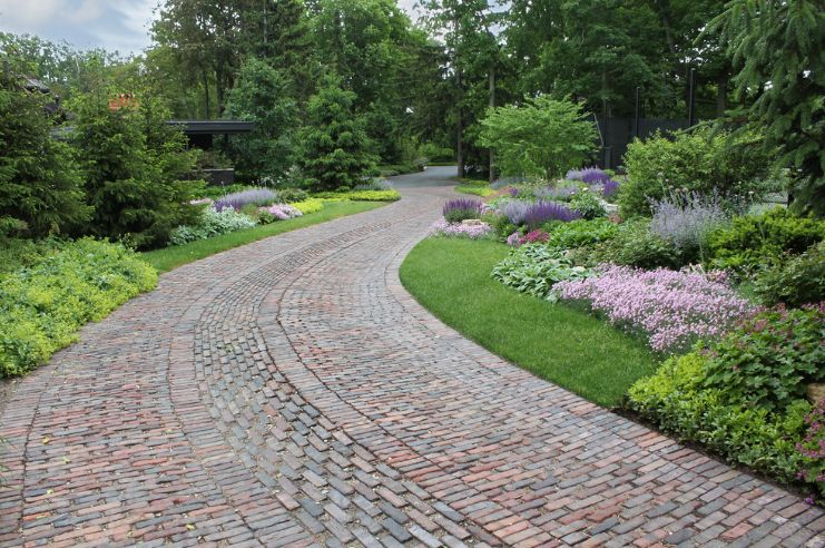 Made Of Rustic Antique Pavers