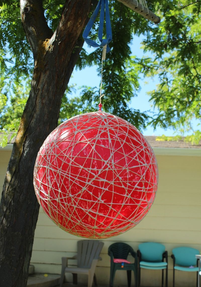 moving your globe light outside