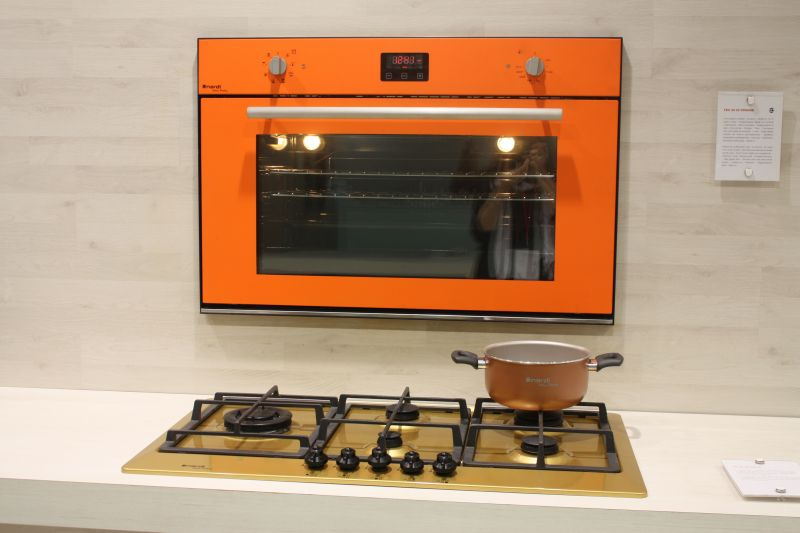 Appliances with bold color for a high impact