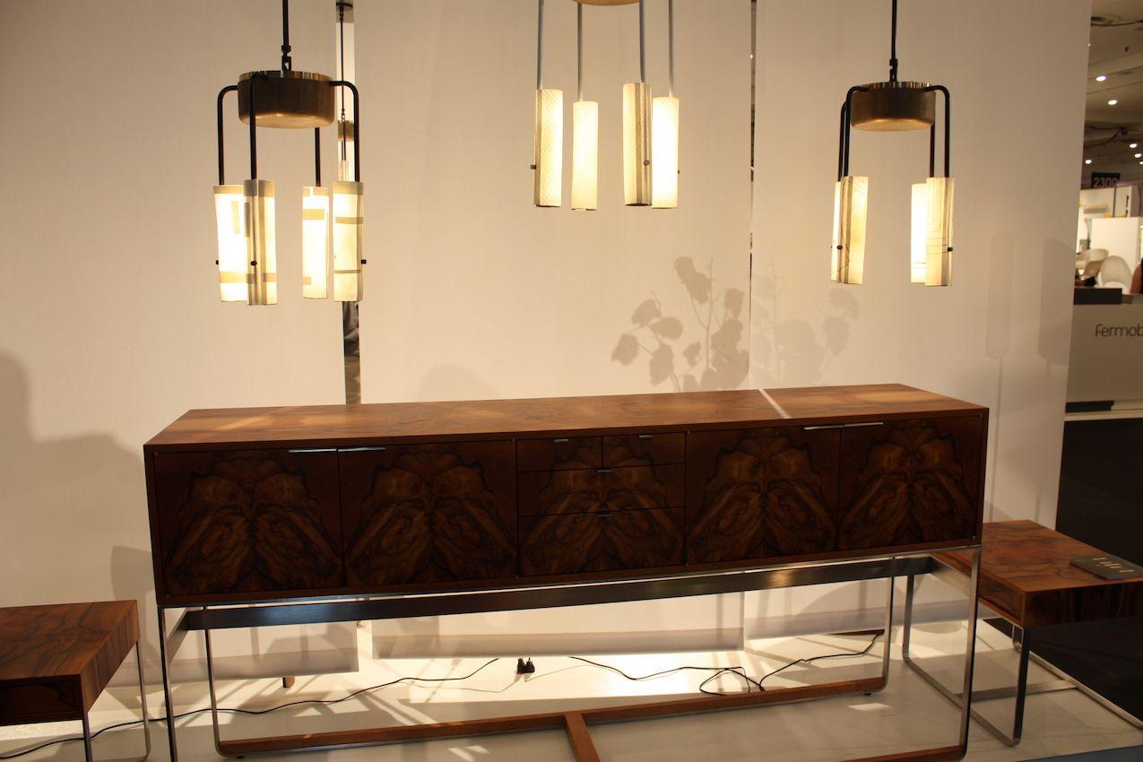 Arak pendants above the Piedmont sideboard.