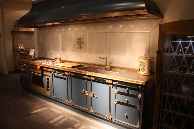 Blue Gray Kitchen Design