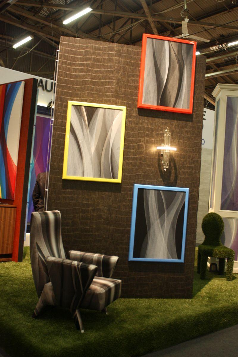 Bold gallery frames