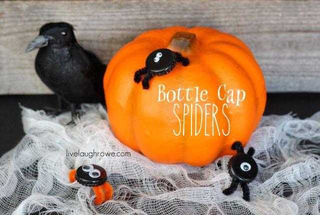 Bottle cap spiders