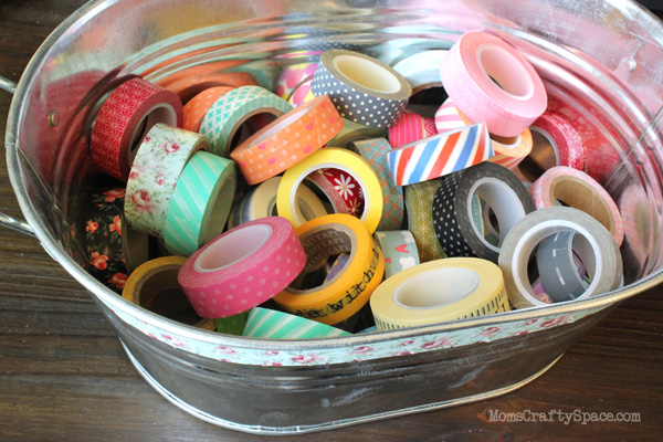Bucket washi tape