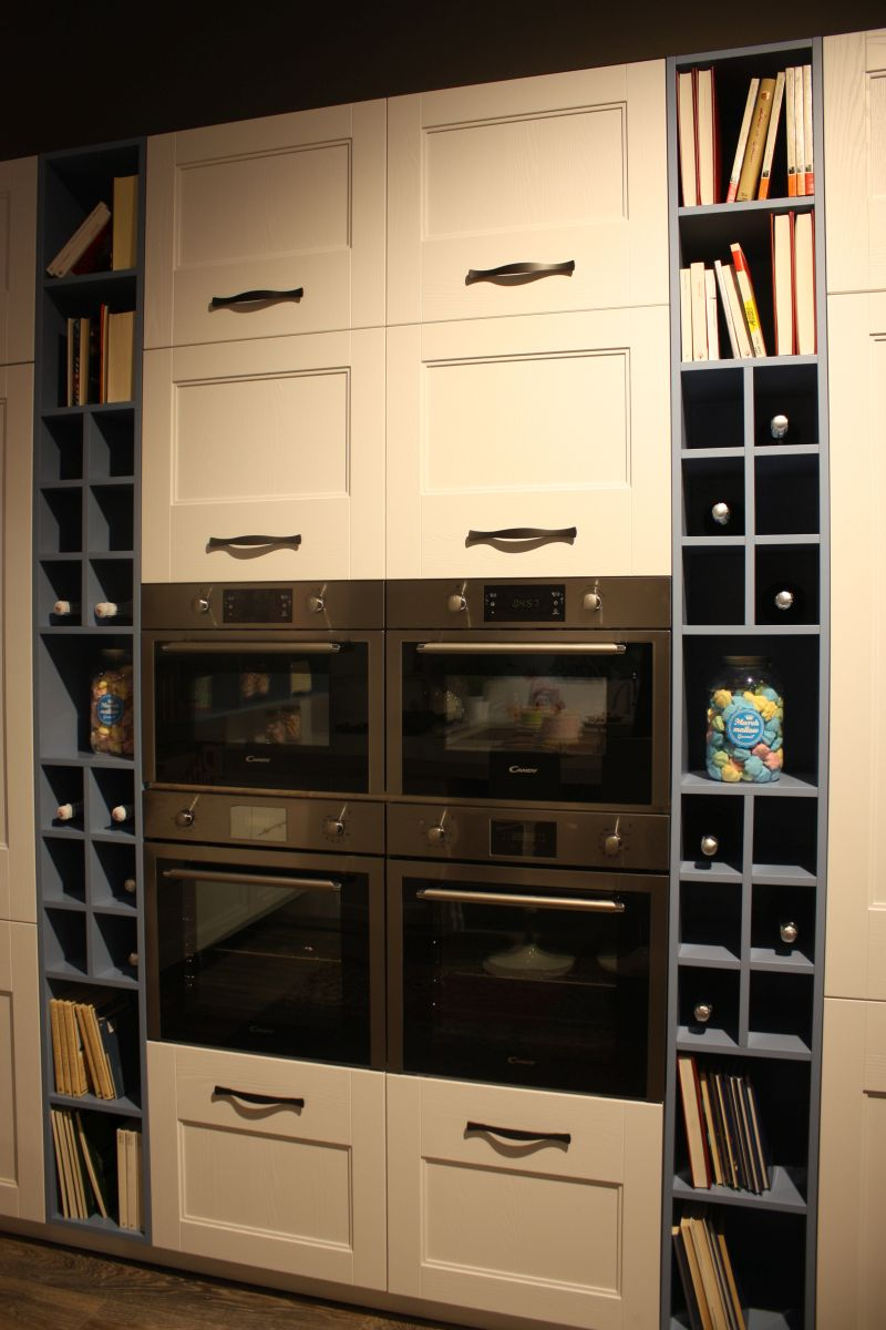 Built in appliances and wine storage