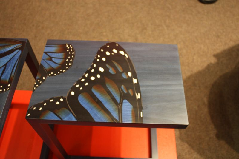 Buterfly design on top