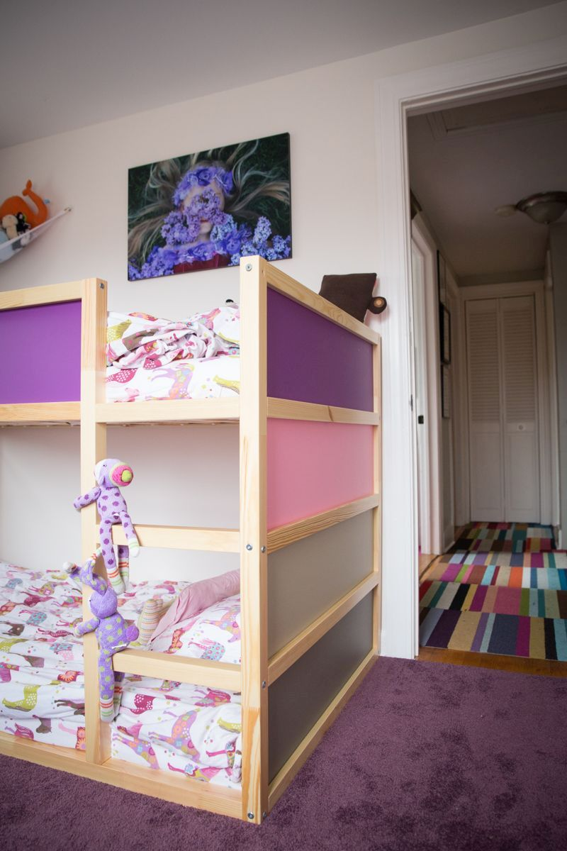 Colorful KURA bunk bed