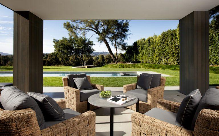 Contemporary Farmhouse Retreat - outdoor deck