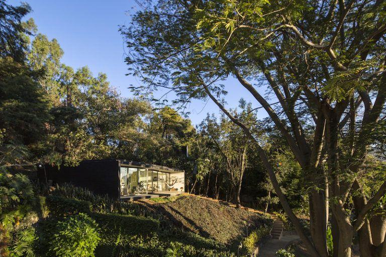 Contemporary cabin in Mexico surroundings