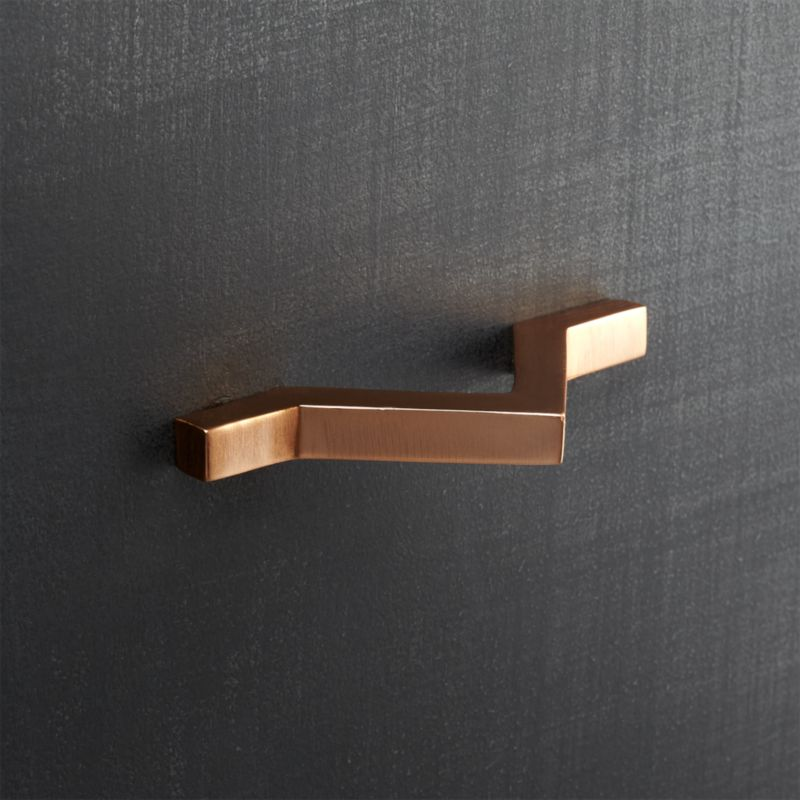 Copper modern pull