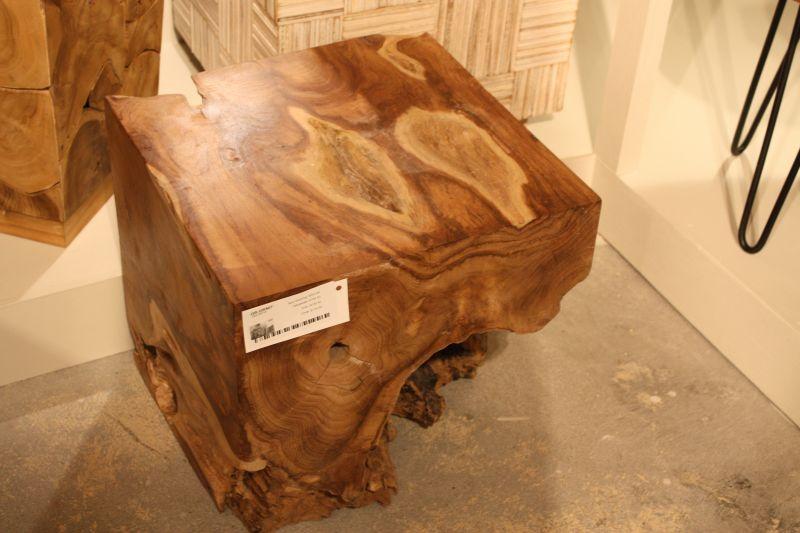 Custom edge wood slab