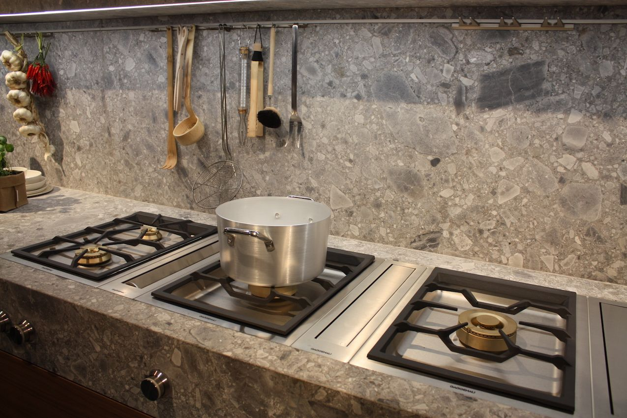 Kitchen Backspashes new kitchen backsplash ideas feature storage and dramatic materials