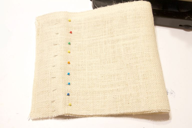 DIY Hessian Planter Bags Pin