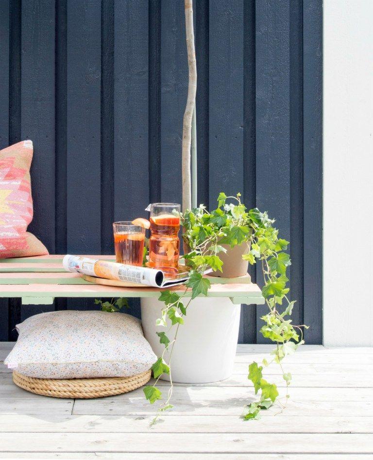 DIY Pallet Plant Bench Good Ideas