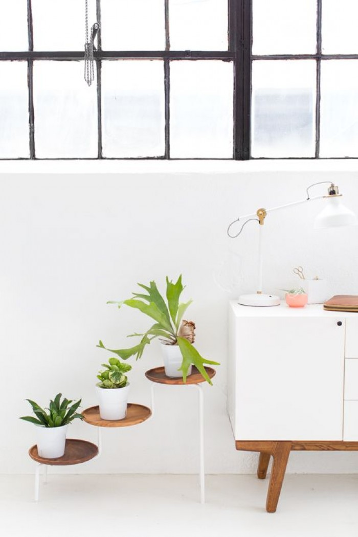 15 Diy Plant Stands To Fill Your Home With Greenery