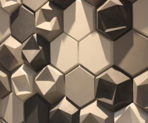 Modern Wall Coverings Feature Custom Papers and 3D Tiles