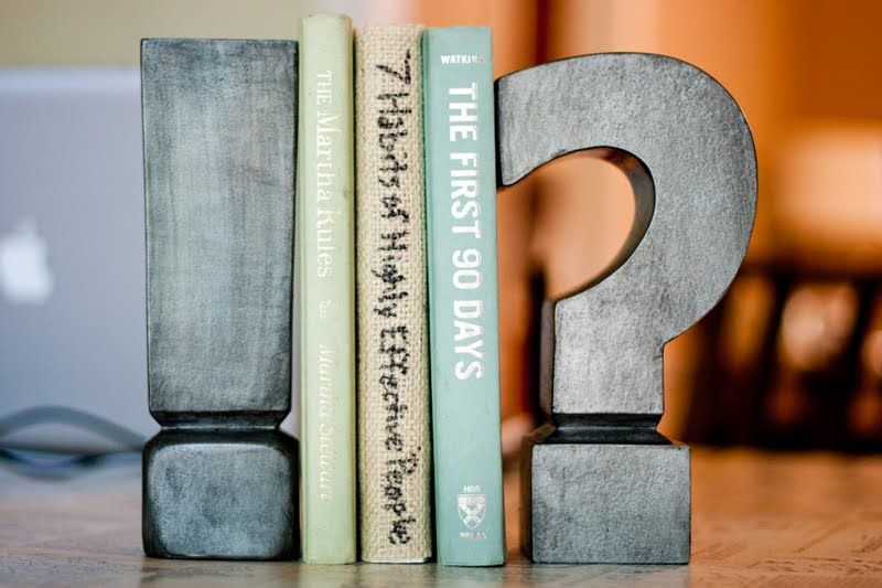 Quirky Diy Bookends