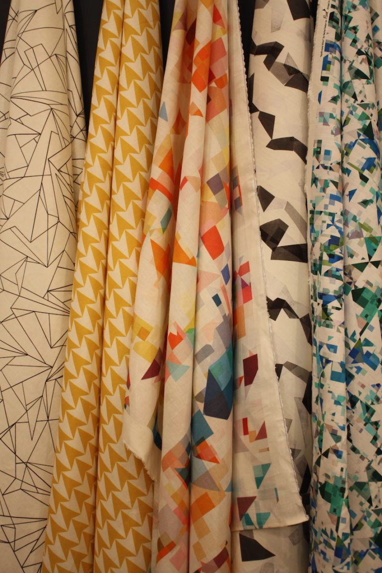 Flock focuses on geometric patterns.