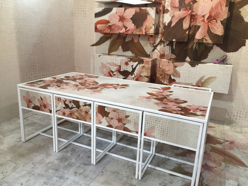 Forever floral interior design