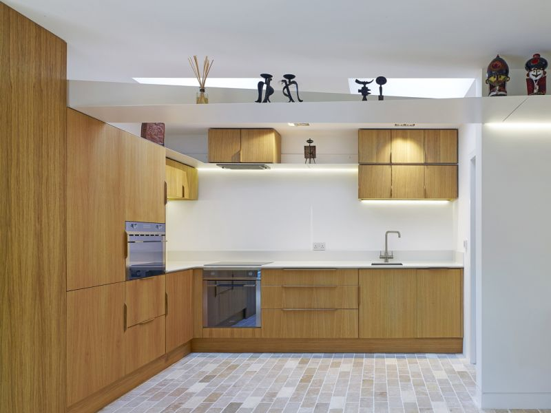 Garden House kitchen interior